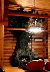 Искусственные деревья,  больших и огромных размеров